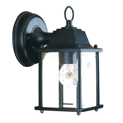 Shop Wall Lights Shop Acclaim Lighting Builders Choice 8 5 In H Matte Black
