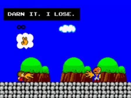 master system alex kidd in miracle world