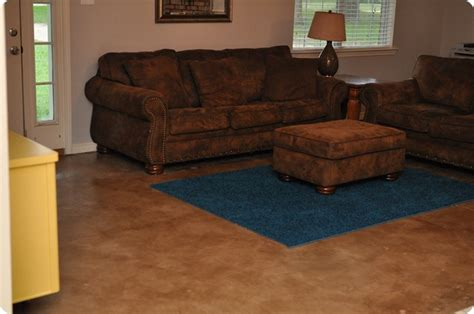 stained concrete living room floors dibble dabble diy painted stained concrete living room floors