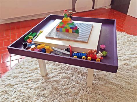 lego table diy ikea lego table with tray ikea hackers