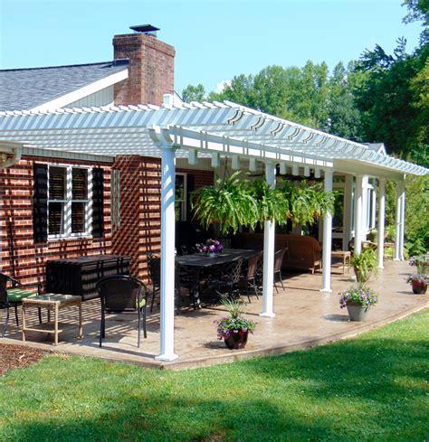 lattice pergola roof gallery of pergolas patio covers asheville nc air