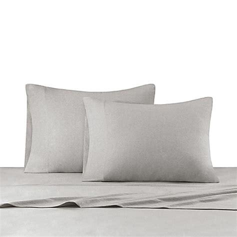 california king jersey knit sheet sets buy ink heathered cotton jersey knit sheet set