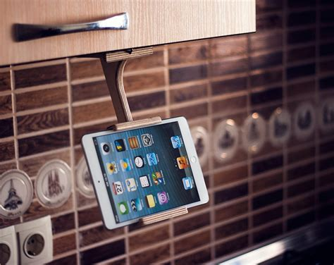 Kitchen Tablet Holder by Wood Tablet Stand Trending Items Unique Gifts Ideas Kitchen