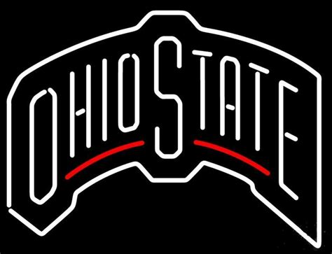 ohio state neon light 2017 ohio state light neon sign bar sign