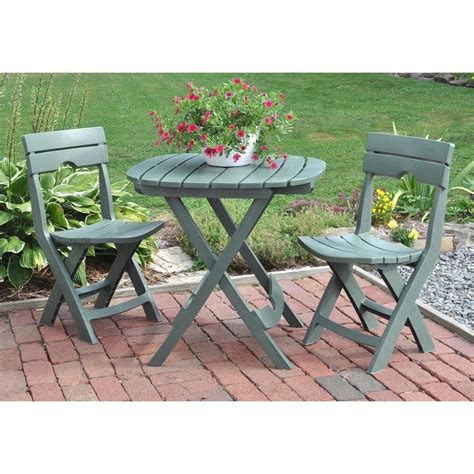 bistro table chairs outdoor new 3 table and chair patio deck fold up outdoor