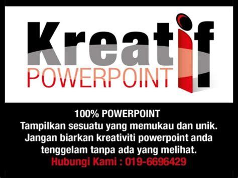 desain kreatif powerpoint kreatif powerpoint
