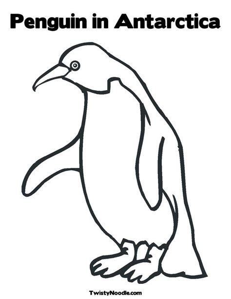 Antarctica Coloring Pages antarctica printable coloring pages