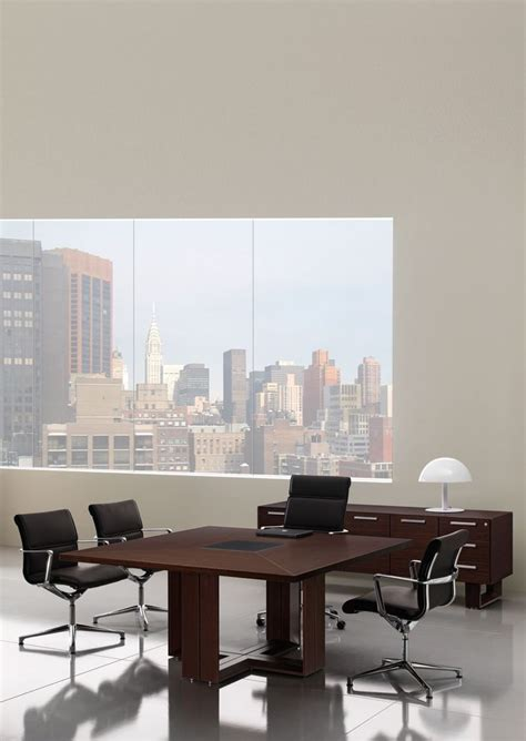 Square Boardroom Table Square Boardroom Table With Leather Insert Astral Reality