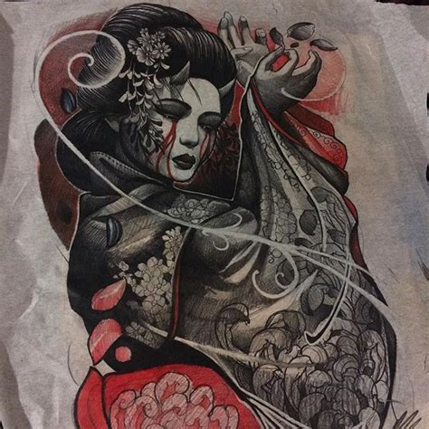 tattoo demon yakuza check this out on ink361 com mais referencias