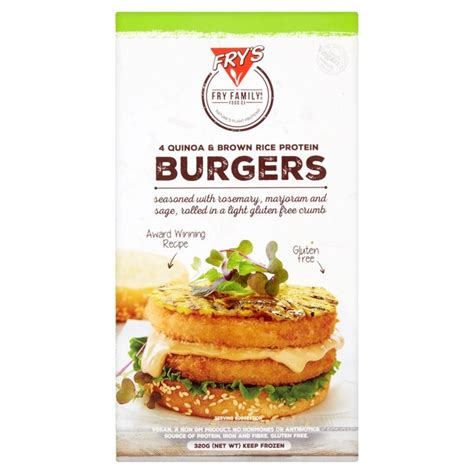 Osk Quinoa Blend Kokumotsu 300g fry s free quinoa brown rice protein burgers 320g from ocado