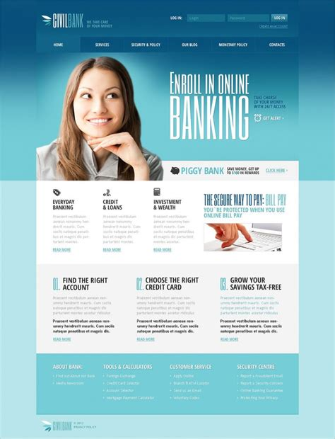 banking templates for a website bank joomla website templates themes free premium
