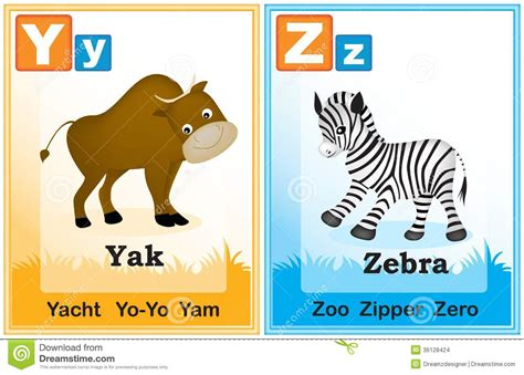 abc book of animals learn alphabets with animals in the jungle books alphabet learning book page 7 stock vector image 36128424