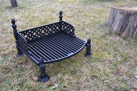 Cast Iron Chimney Pit 51 X 40 Cm Bbq Barbecue Grate Grill Cast Iron Outdoor