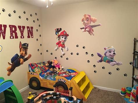 Paw Patrol Room Decor by Best 25 Paw Patrol Bedroom Ideas Only On Paw