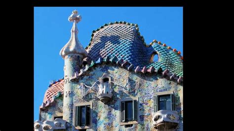 gaudi house barcelona house batllo work of antonio gaudi barcelona spain youtube