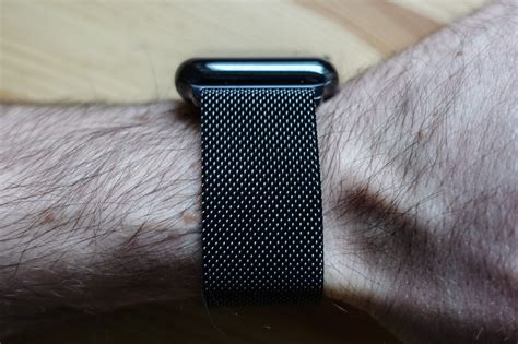 The Space Black Apple Watch with Space Black Milanese band is gorgeous   iMore