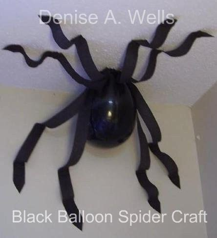 Spider Decorations by Black Balloon Spider By Rainy B Decorations