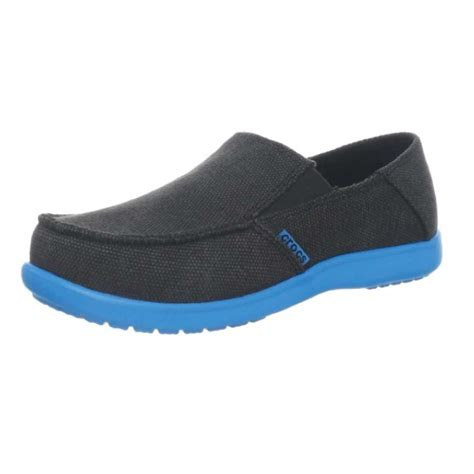 crocs loafers crocs boys santa canvas loafer gskids world shoes