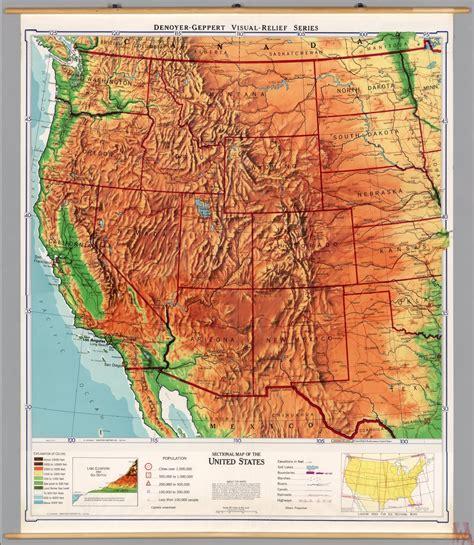 map western usa population map west usa whatsanswer