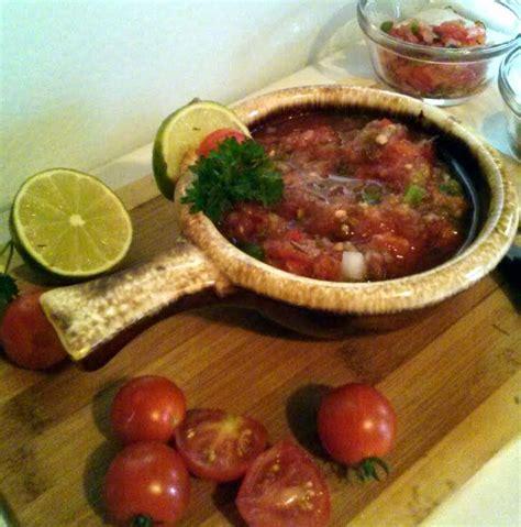 Garden Fresh Salsa Garden Fresh Salsa Recipe Dishmaps