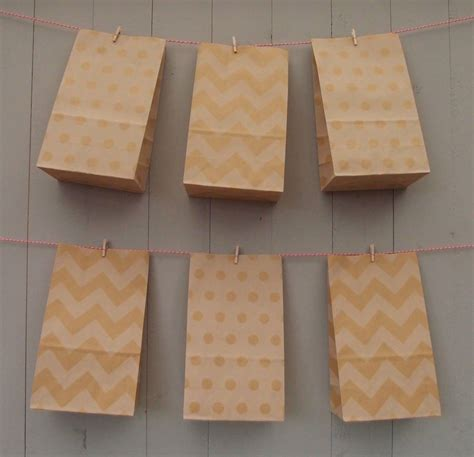 pattern paper bags stand up natural pattern paper bags medium by petra boase