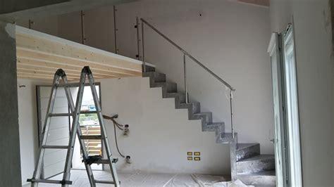 scala  interni  lamiera  soppalco  legno
