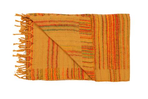 decke plaid decke gelb plaids en shawls