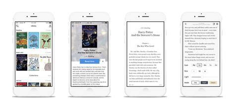 Ios Book Reader App Ui Graphic Legion Ios App Ui Templates