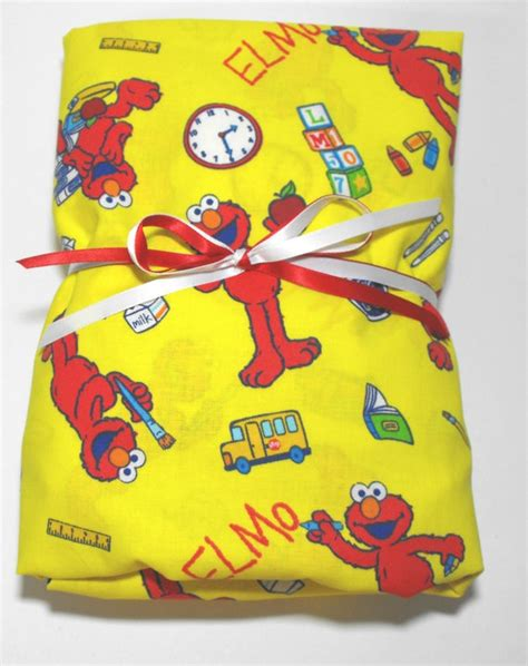 elmo bedding for cribs elmo toddler sheet crib sheet fitted with matching pillow