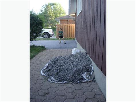 Yard Gravel For Sale New Granular A Gravel 1 2 Cubic Yard 5 Nepean Ottawa