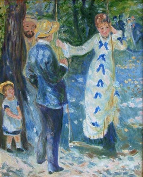 La Balancoire Renoir by Tableaux D Auguste Renoir