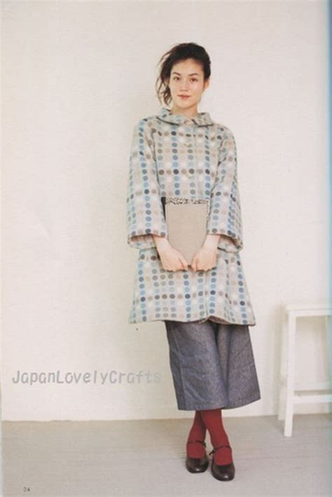 daily natural clothes japanese sewing pattern book