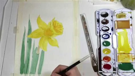watercolor daffodil tutorial 969 best art watercolor images on pinterest water
