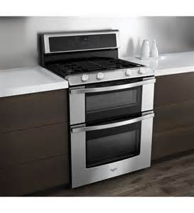 2 Burners Gas Cooktop Whirlpool Wgg555s0bs 6 0 Total Cu Ft Double Oven Gas