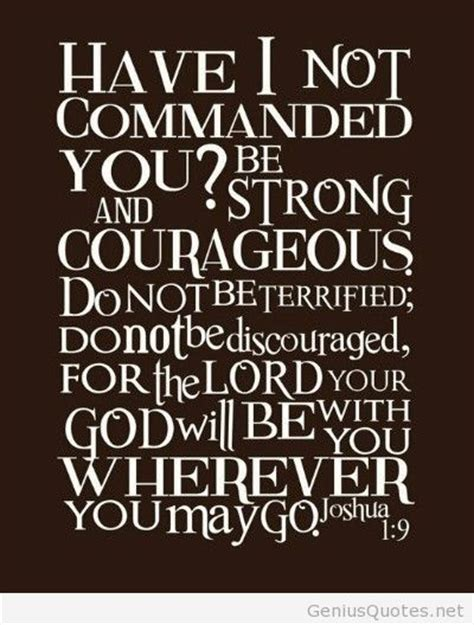 Quotes About Strength Bible Quotes On Courage And Strength Quotesgram