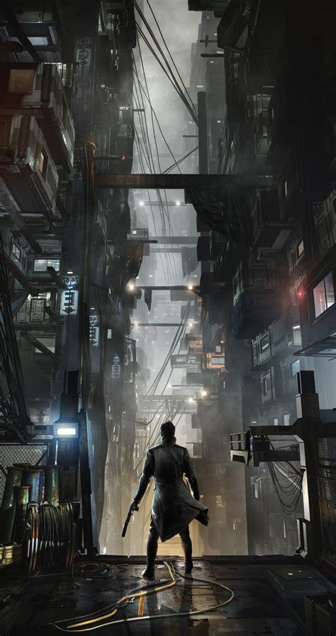 deus  mankind divided adam jensen cyberpunk video