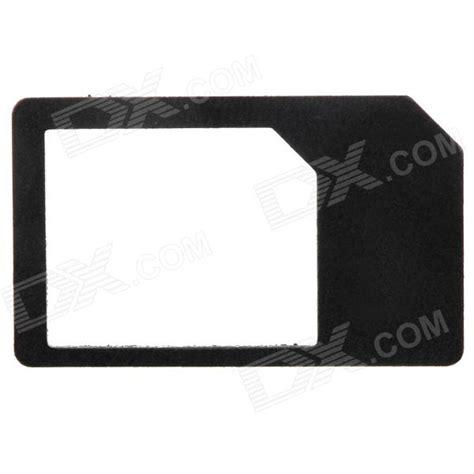 sim card adaptor template buy micro sim card to standard sim card adapter black