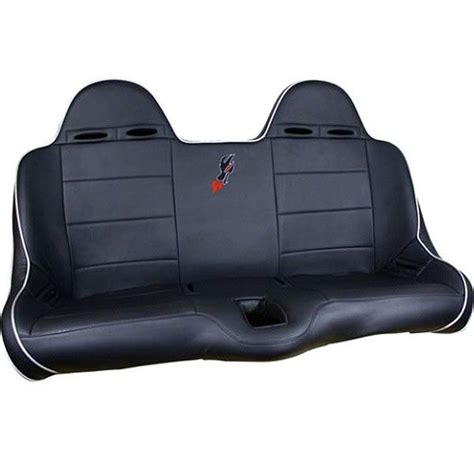 bucket bench seat dragonfire front bucket bench seat 2wheelpros com