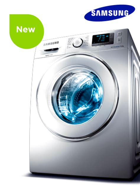 Samsung Washing Machine Decorated In Gold Washes Clothes by Samsung Ecobubble Washing Machines Currys