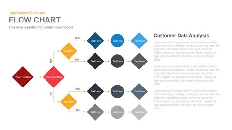 chart powerpoint template flow chart powerpoint and keynote template slidebazaar