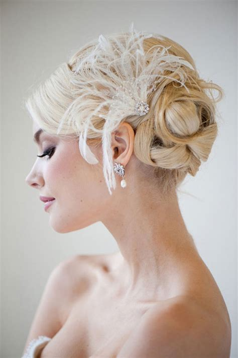 Wedding Hairstyles Updos With Fascinators by Mariage 50 Accessoires Pour Sublimer Ses Cheveux