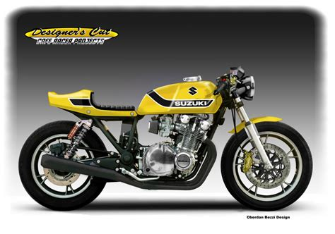 Cafe Racer Suzuki Gs Racing Caf 232 Caf 232 Racer Concepts Suzuki Gs 1100 Quot Yellow