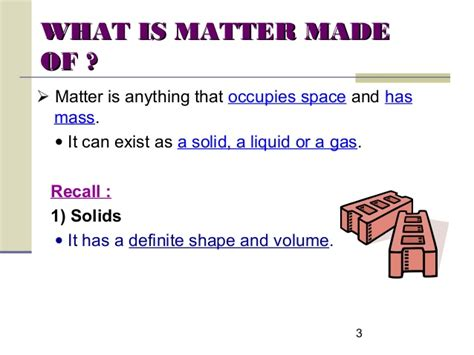 how is matter created chapt 1 kpt of solids liquids gases 1