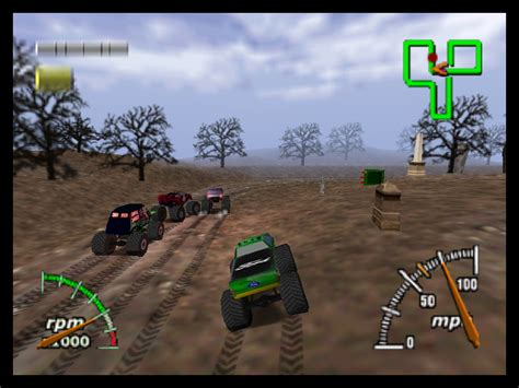 monster truck games video monster truck madness 64 download game gamefabrique