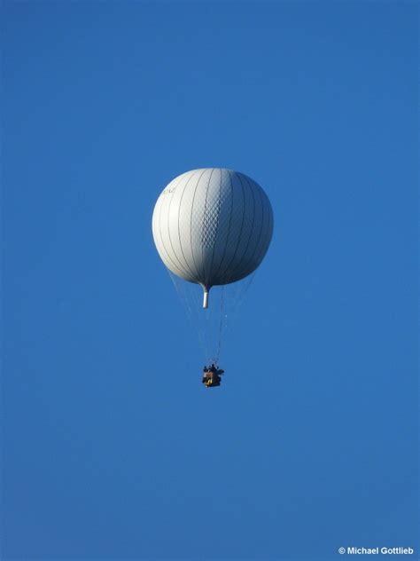 Gas Balon gasballon unterwegs am 4 oktober 2014 gesehen vom