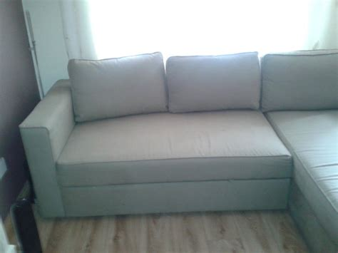 ikea sofa bed manstad ikea manstad corner sofa bed for sale in ringsend dublin