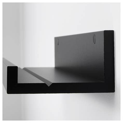 ikea ledge mosslanda picture ledge black 115 cm ikea