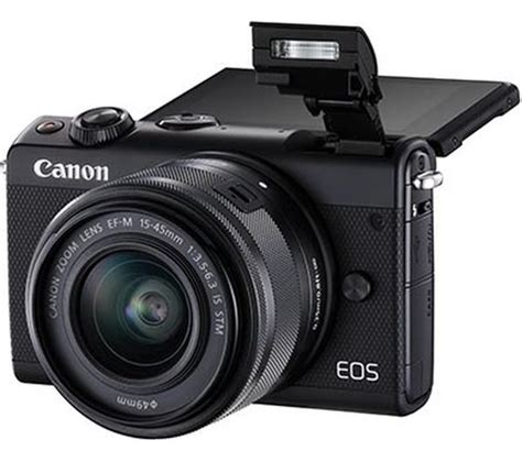 Canon Eos M100 Mirrorless Kit 15 45mm Is Stm canon eos m100 mirrorless with ef m 15 45 mm f 3 5