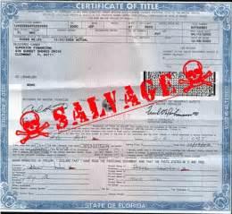 Warning salvage titled vehicles petruzelo ct insurance blog