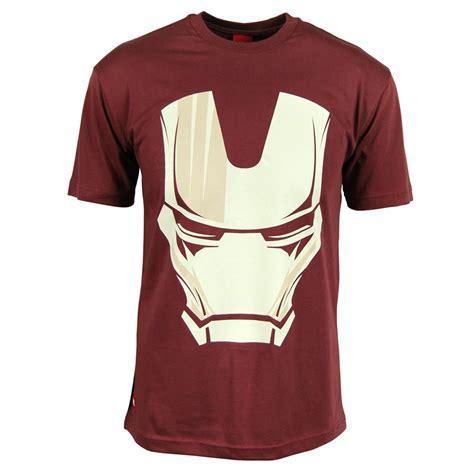 Tshirt Squad N C Baam mens marvel iron helmet t shirt